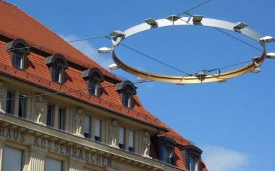 Der Erfurter Bahnhofsvorplatz