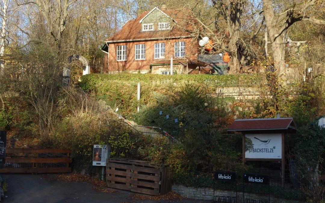 Das Bachstelzen-Café in Erfurt Bischleben