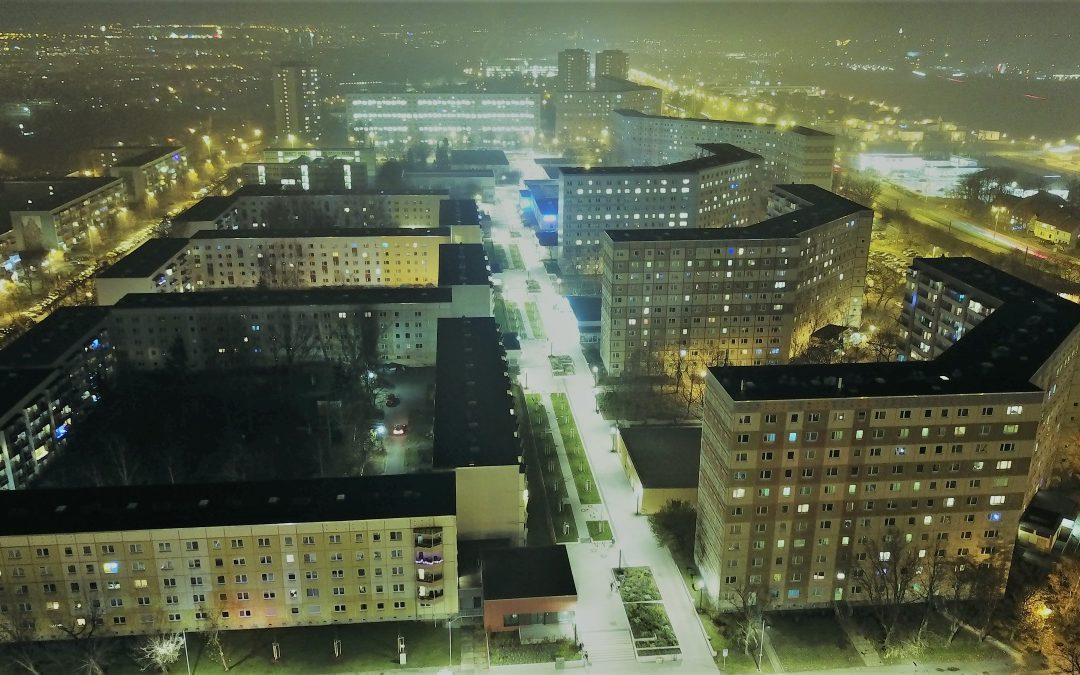 Die neue Fußgängerzone am Berliner Platz