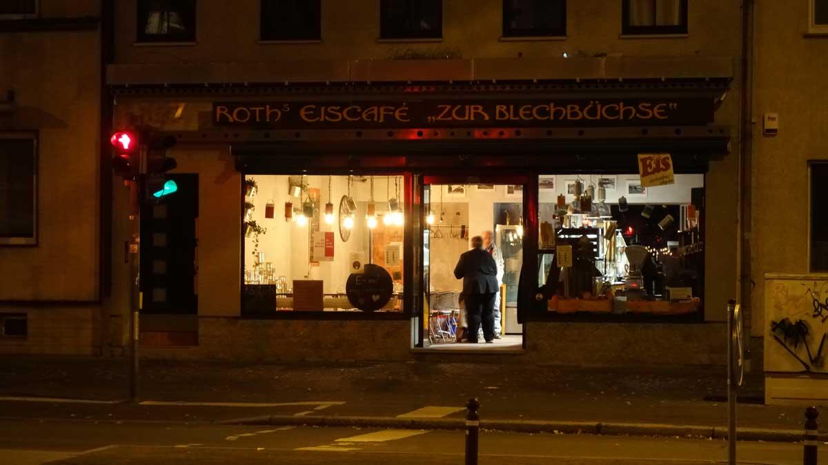 Cafe Zur Blechbüchse der Bäckerei Roth in der Magdeburger Alle Erfurt