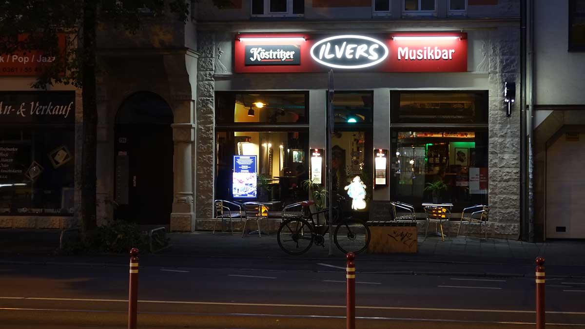 Die Musikbar Ilvers in der Magdeburger Allee Erfurt