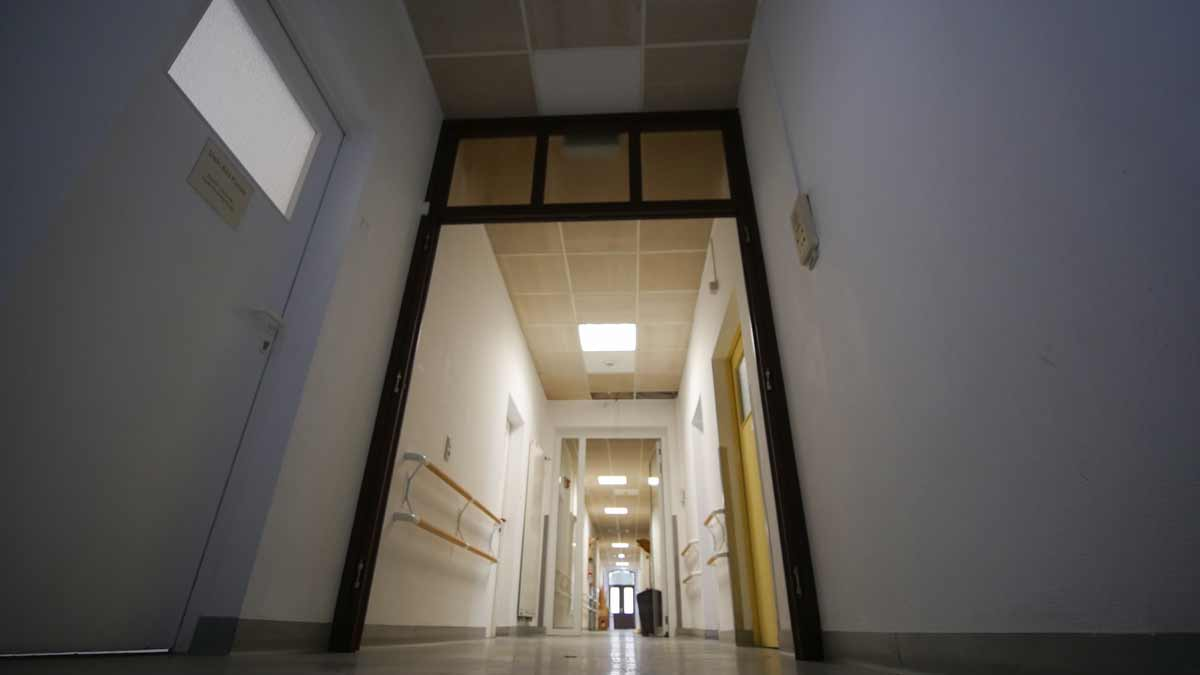 Gang im Wächterhaus 3 Erfurt in der ehemaligen Nervenklinik