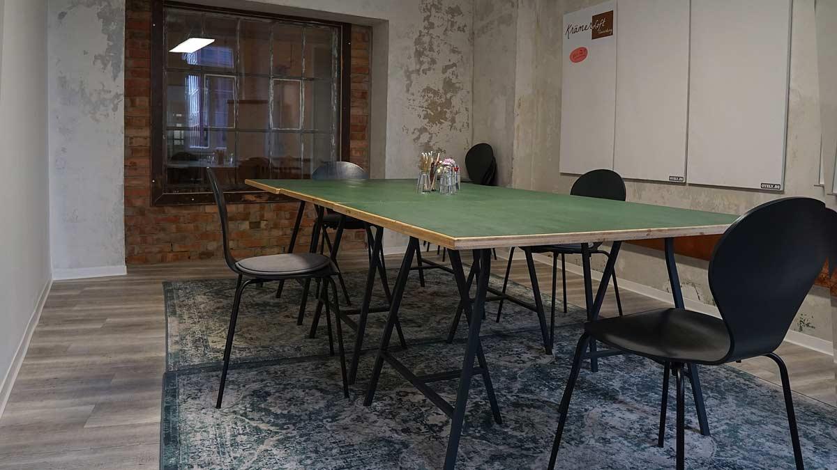 Meetingraum im Coworking Space Krämerloft in Erfurt Bahnhofsstraße