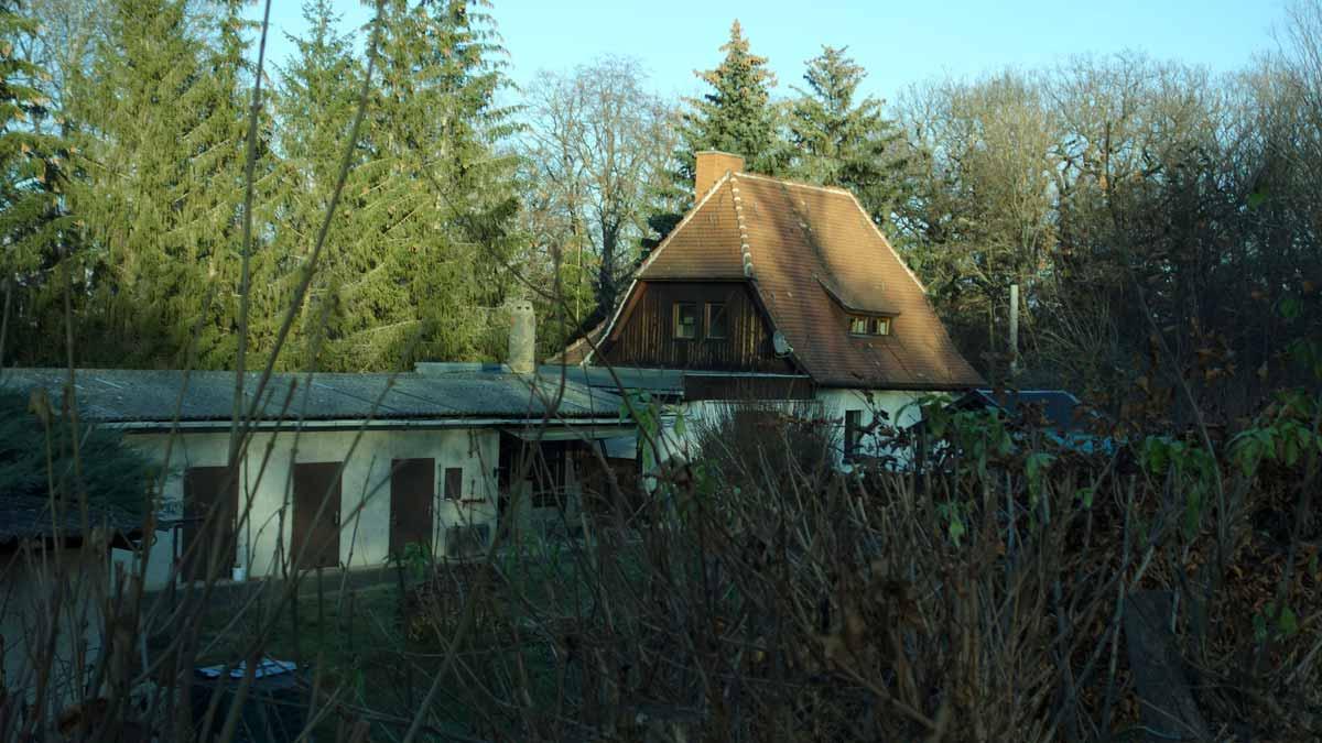 Forsthaus im Steigerwald Erfurt
