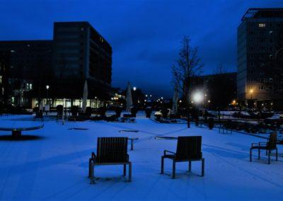 Schnee in Erfurt