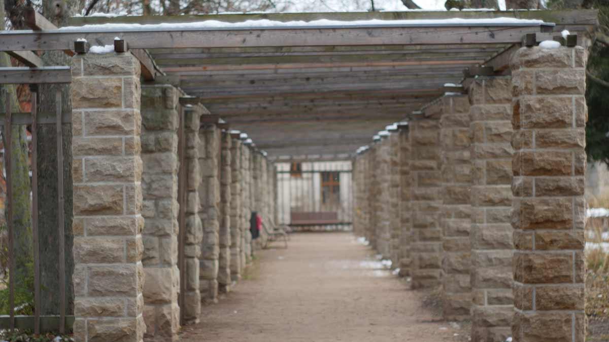 Pergola im Stadtpark Erfurt