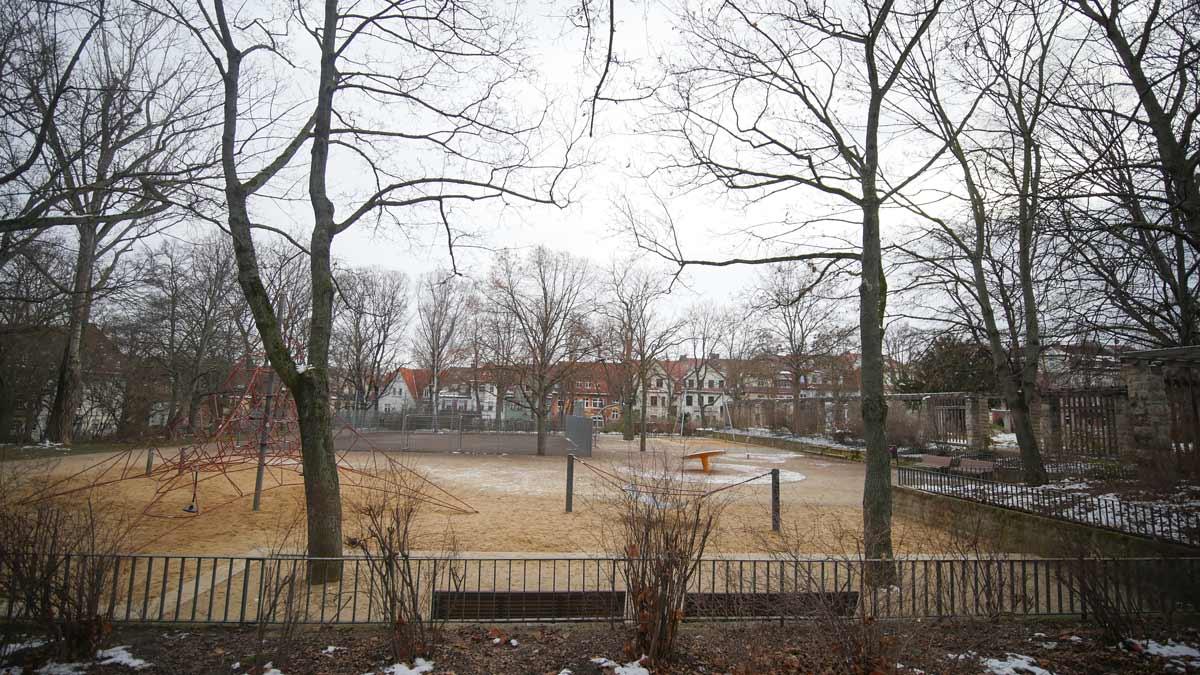 Spielplatz im Stadtpark Erfurt