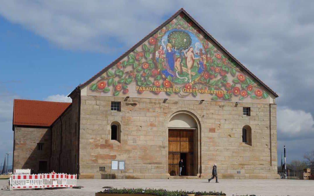 Petersberg Erfurt 10 Tage vor Buga2021 Eröffnung