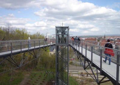 Die Bundesgartengartenschau Erfurt 2021 Anfang Mai