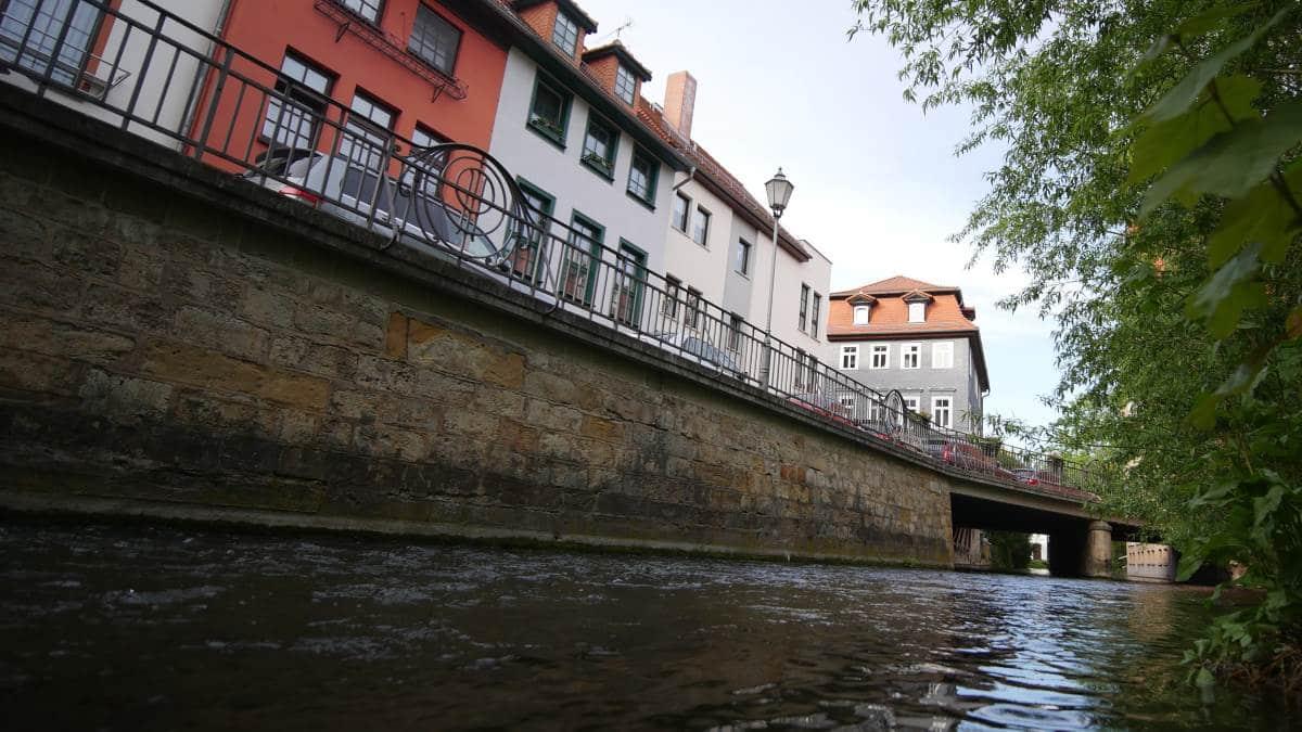 Der Walkstrom in Erfurt am Fischersand
